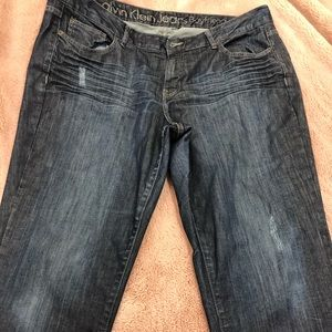 Woman's CK jeans